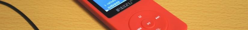 中華的優良多媒体播放器・Ruizu X02