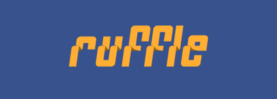 Ruffle logo
