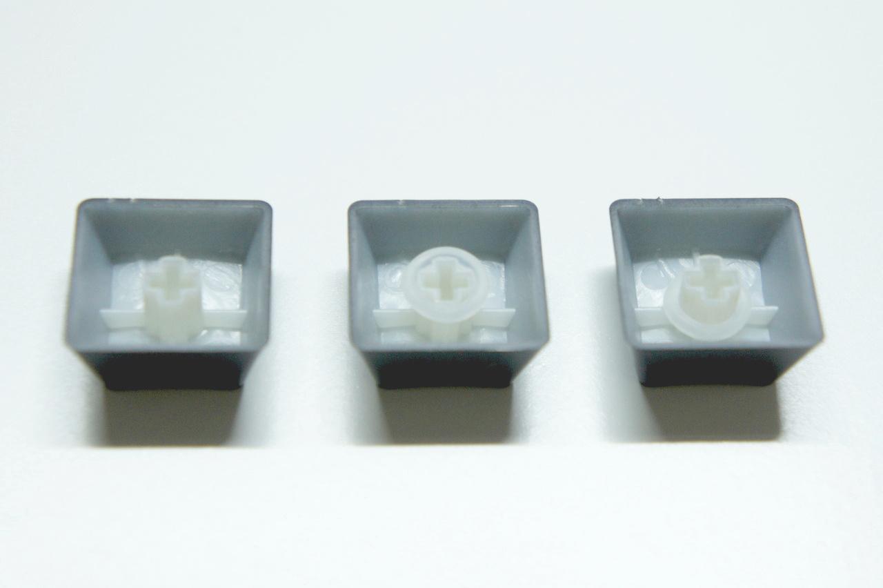 キーボード静音化リング 4 キーキャップへの装着